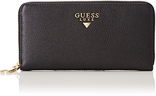 Guess Slg Wallet, Portefeuilles femme, Noir (Black), 2x10x20 cm (W x H L)