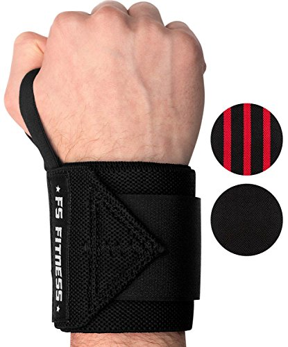 Universal Wrist Wrap (Handgelenkbandage [2er Set] Wrist Wraps - Profi Bandagen für Fitness, Bodybuilding, Crossfit, Krafttraining - 45 cm (18