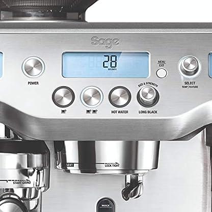 Sage-Appliances-Espresso-Maschine-Gebrstetes-Edelstahl