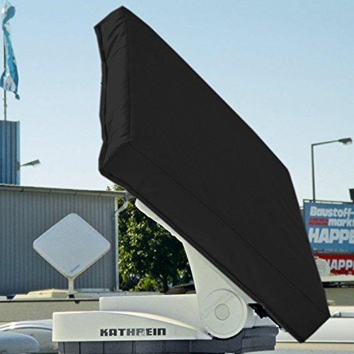 Preisvergleich Produktbild Hagelschutzhaube für Kathrein Antenne BAS 60 / 65 / 66 - anthrazit