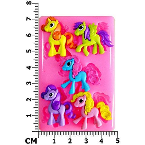 susse-pony-einhorn-pegasus-silikon-form-fur-kuchen-dekorieren-kuchen-kleiner-kuchen-toppers-zuckergl