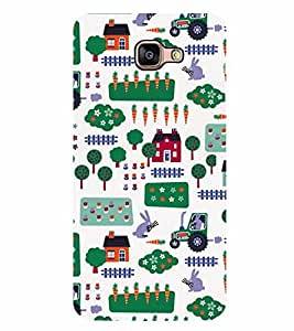 Fiobs Designer Back Case Cover for Samsung Galaxy A9 (2016) :: Samsung Galaxy A9 Pro (2016) (God Bhagvan Temple Dress Sports Typography Spritual)