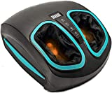 Shiatsu Foot Massager Machine - Electric Deep Kneading Massage with Heat & Air