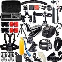 معدات كاميرا حركية 50 في 1 للرياضات الخارجية من جو برو هيرو 4/3/2/1 لمجموعة كاميرات الفيديو