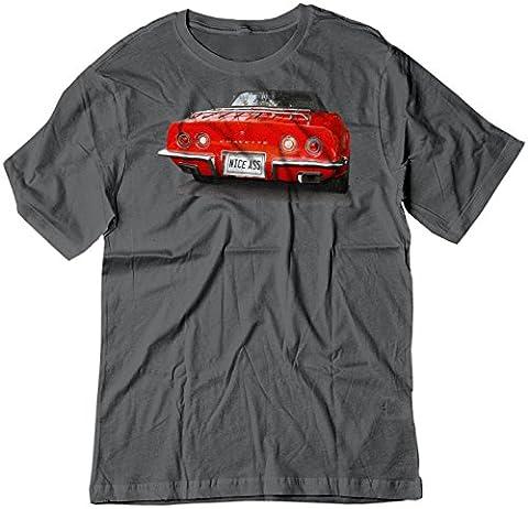 BSW Herren T-Shirt Gr. Large, Dunkelgrau