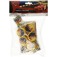 Disney Amscan 20-Piece Cars Stationery Pack Party Accessory