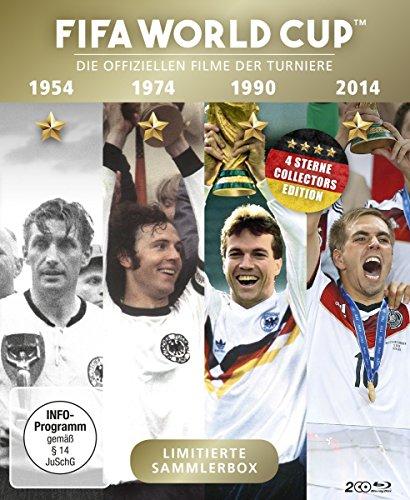 FIFA WORLD CUP 54 * 74 * 90 * 14 - Die offiziellen Filme der Turniere [Blu-ray]