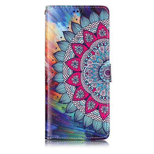 Galaxy Note 8 Hülle, The Grafu PU Leder Handytasche, Multifunktion Brieftasche Klapp Schutzhülle mit Kartenhalter für Samsung Galaxy Note 8, Blume