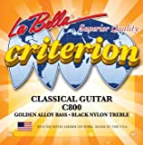 La Bella C800 Criterion Classical (Black Nylon), medium