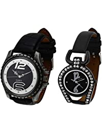Dice Stylish Couple Watches Combo of 2 Watches for Couple-05