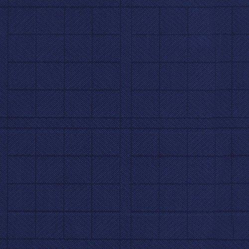 Nappe toile cirée PVC Rectangulaire 140 x 200 cm Bleu