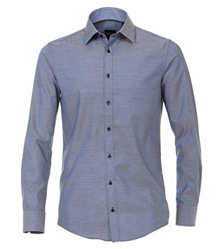 Venti Herren Businesshemd 172678600, Blau (Blau 100), 44 (Herstellergröße: XL)