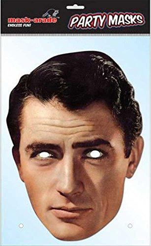 Preisvergleich Produktbild Gregory Peck Promi Pappmaske - hochwertiger Glanzkarton mit Augenlöchern - Größe ca. 30x21 cm