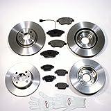 Autoparts-Online Set 60004161 Bremsscheiben Bremsen + Bremsbeläge Vorne + Hinten