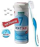 Denttabs - Zahnputztabletten (380 Stk.) + Spezial Zahnbürste