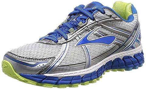 Brooks Adrenaline Gts 15, Women's Running Shoes, Dark Blue/White/Sharp Green, 7.5 UK / 41 (Brooks Trainer)