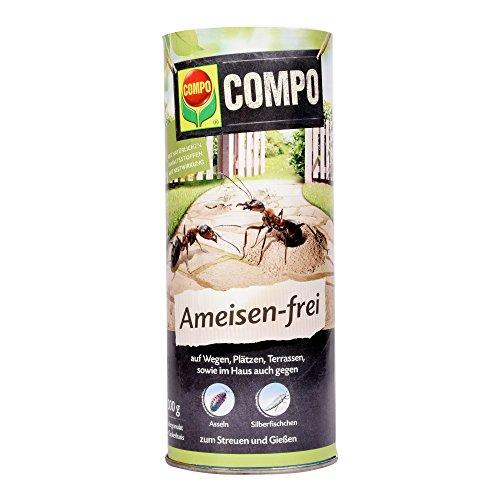 COMPO Ameisen-frei N, Staubfreies Ködergranulat mit Nestwirkung, 300 g