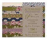 Tilda Herbst Baum Mini Papier Pad, Papier, mehrfarbig