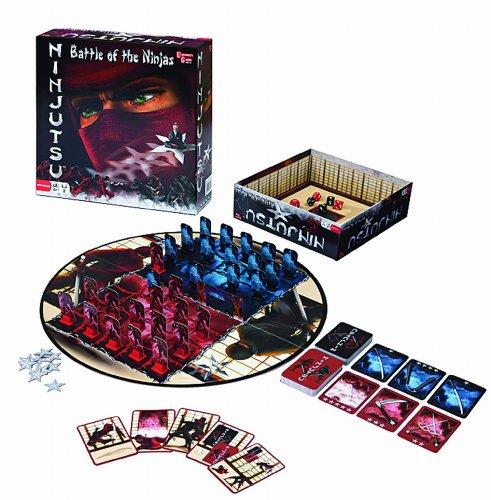 Preisvergleich Produktbild University Games 8179 - Ninjutsu das Brettspiel