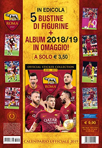Calendario Asroma.Calendario Della Roma 2019 Ikbenalles