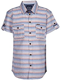 Super Young Shirt for Boys - Multicolor Shirts - Striped Shrit - Cotton Material - Stylish Shirt for Boys - with Front Pocket