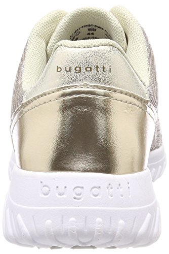 Bugatti 421455015969, Scarpe da Ginnastica Basse Donna Oro (Gold/ Metallic)