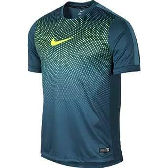Nike Men's Polyester Sports T-Shirt (619732-483_Turquoise ...