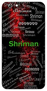 Shriman (Gentleman) Name & Sign Printed All over customize & Personalized!! Protective back cover for your Smart Phone : Huawei Honor 5X