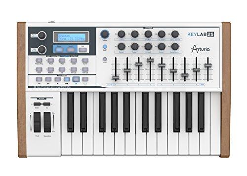 Arturia KeyLab 25 Hybrid Synthesizer mit 25 Tasten und über 5000 Sounds