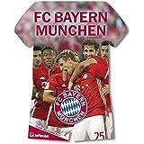 FCB Bayern München 2017 - teNeues Fußballkalender 2017, Trikotkalender, FCB Kalender, Fankalender  -  34 x 42 cm