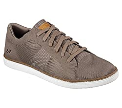 Skechers Lanson Revero Mens Sneaker Oxfords Tan 12