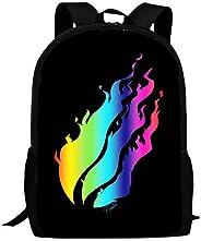 Preston-playz Kids Backpack Funny Bookbag Durable Travel Backpacks School Bags for Boys Girls