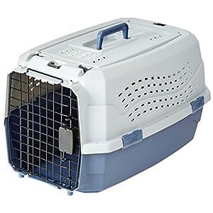Caisse de transport pour chat avec 2portes dont 1sur le dessus
