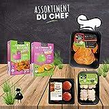Royal Bernard - Assortiment du Chef - Colis de Volaille et de Produits Élaborés Crus de Volaille Régionale - 5 barquettes de produits différents...