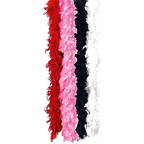 California Costumes 135716 Feather Boa 72 in.- Hot Pink (accesorio de disfraz)