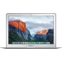 Apple MacBook Air MJVE2D/A 33,8 cm (13,3 Zoll) Notebook (Intel Core i5 5257U, 1,6GHz, 4GB RAM, 128GB HDD, OS X Yosemite) silber - Modell März 2015