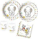 52 Teile Disney Babyshower Party Deko Set 16 Personen