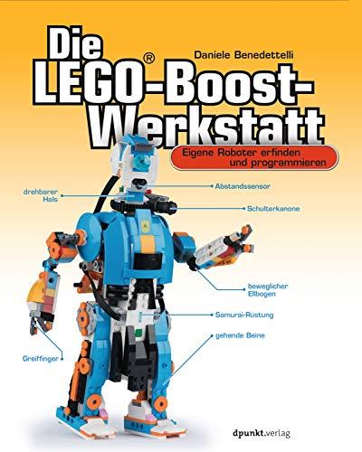 Die LEGO®-Boost-Werkstatt: Eigene Roboter erfinden und