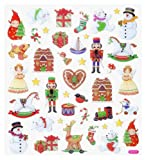 Hobby design *hiver noël vIII stickers autocollants 3452395 a
