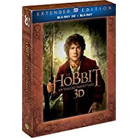 Lo Hobbit - Un Viaggio Inaspettato (Extended Edition) (5 Blu-Ray 3D + 2D);The Hobbit - An Unexpected Journey;The Hobbit: An unexpected journey