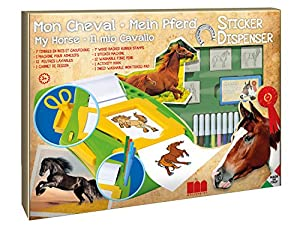 MULTIPRINT My Horse - Juegos de Sellos para niños, Caucho, Madera, 3 año(s), Italia, 480 mm, 60 mm