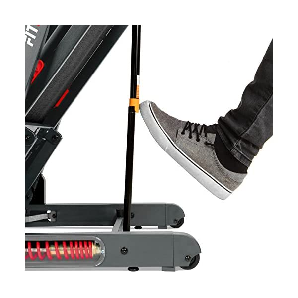 FITFIU Fitness MC-500 - Tapis roulant pieghevole inclinazione automatica, display LCD e cardiofrequenzimetro, Motore… 5 spesavip