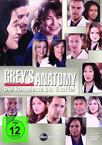 Grey's Anatomy: Die jungen Ärzte - Die komplette 10. Staffel [6 DVDs] -
