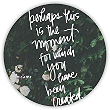 For Girl Circle Tag Have With Bible Verses Mdf Dropproof