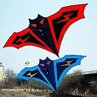 FZSWD 180 cm de murciélago Grande Cometa Manual de Costura Cometas Cadena fácil Control Volando Juguete Regalo de los niños Juguetes Deportivos al Aire Libre