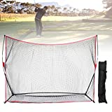7ft x 7ft Portable Baseball Tennis Oefennet, Keenso Pitching Batting Hitting Training Aid Sport voor Outdoor Indoor