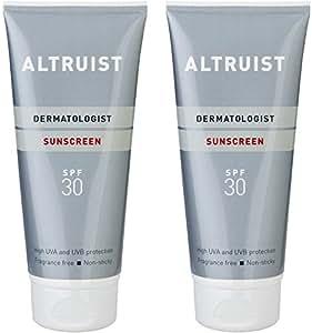 Altruist Dermatologist Sunscreen SPF 30 - high UVA protection, 200 ml (2 x 200 ml)