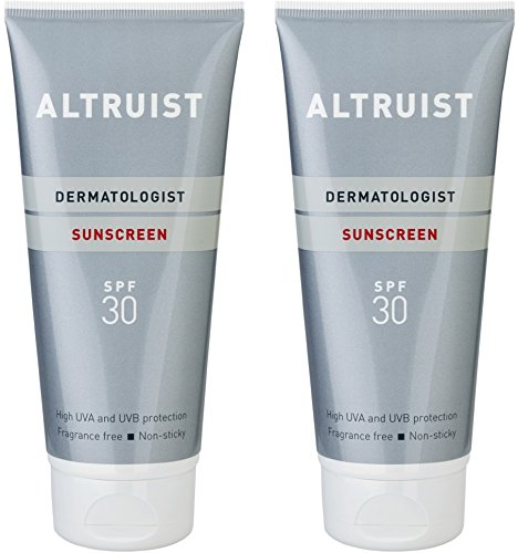 Altruist Dermatologist Sunscreen SPF 30 - high UVA protection, 200 ml (2 x 200 ml)