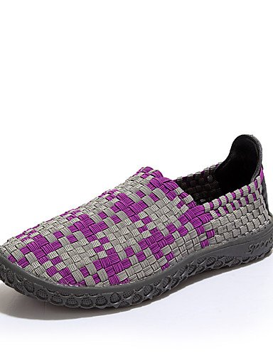 ZQ Scarpe Donna-Mocassini-Casual / Sportivo-A punta-Piatto-PU-Verde / Viola / Arancione , purple-us8.5 / eu39 / uk6.5 / cn40 , purple-us8.5 / eu39 / uk6.5 / cn40 green-us8 / eu39 / uk6 / cn39