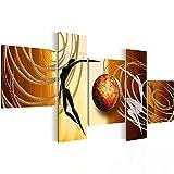 Bilder 130 x 65 cm - Love Story Bild - Vlies Leinwand - Kunstdrucke -Wandbild - XXL Format - mehrere Farben und Größen im Shop - Fertig zum Aufhängen - !!! MADE IN GERMANY !!! - 3006521b